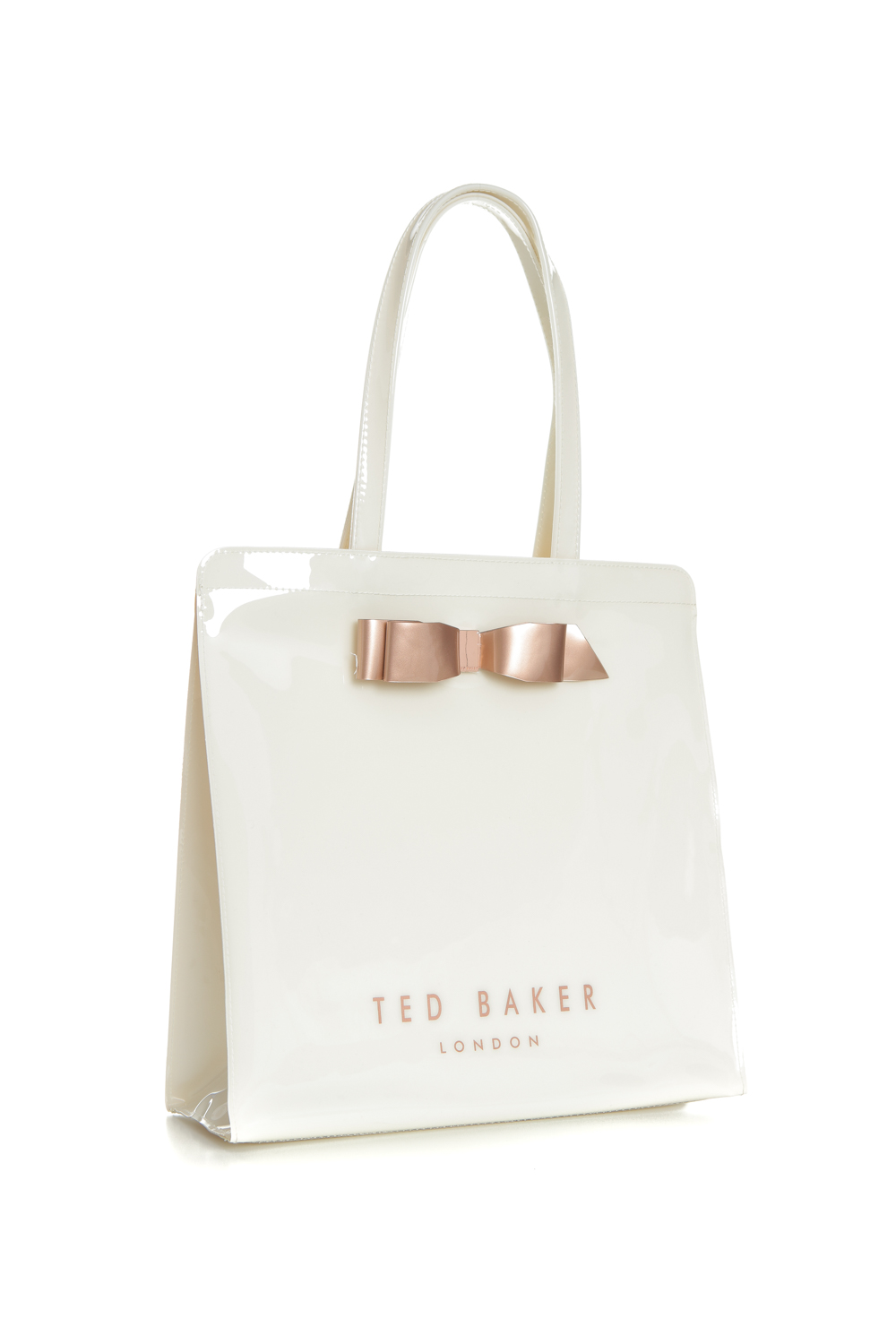 e92a635087f TED BAKER - Γυναικεία τσάντα ώμου TED BAKER ALMACON BOW DETAIL LARGE ICON  BAG ΤΣΑΝΤΑ