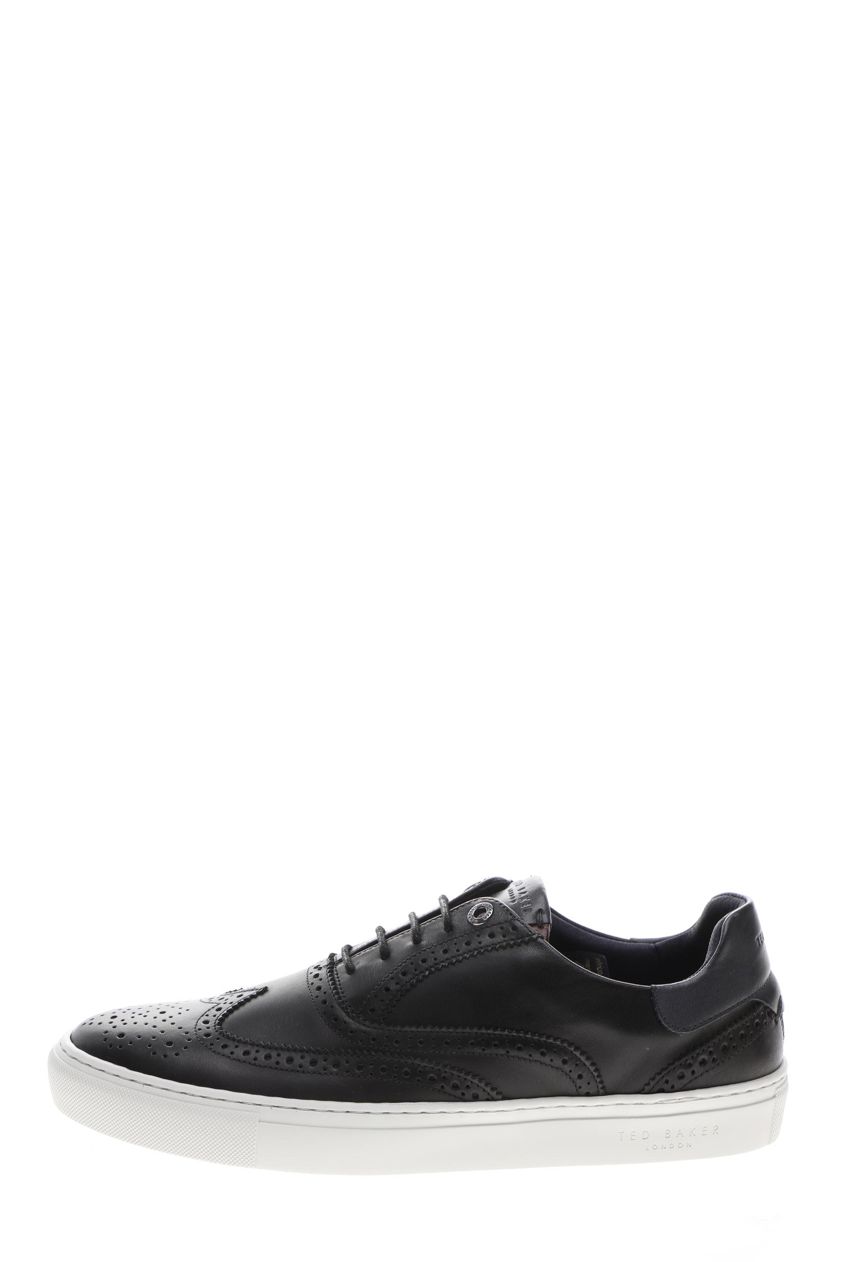 TED BAKER – Ανδρικά sneakers TED BAKER DENNTON μαύρα