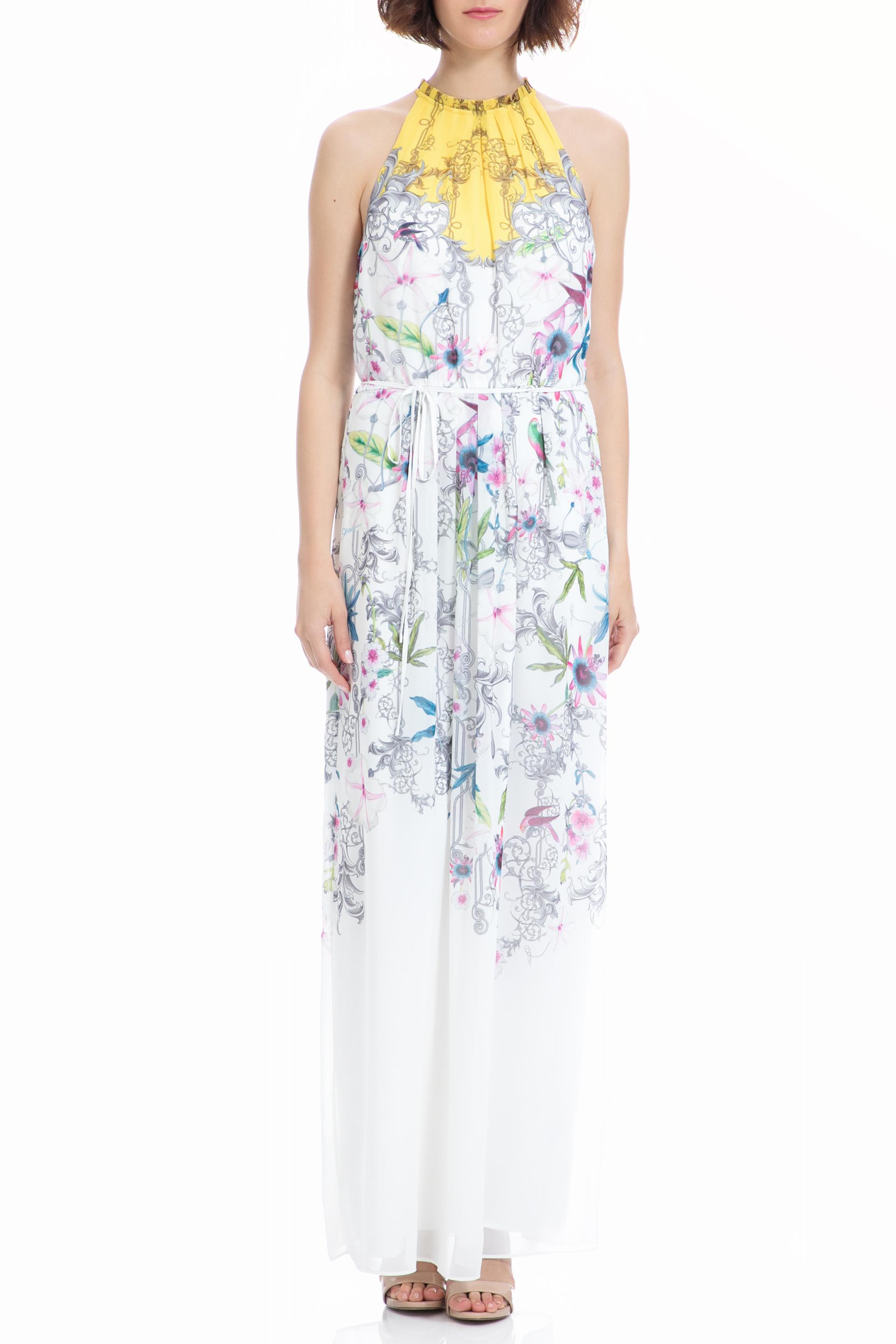 c3ccb71a8ef1 TED BAKER - Μάξι φόρεμα TED BAKER λευκό