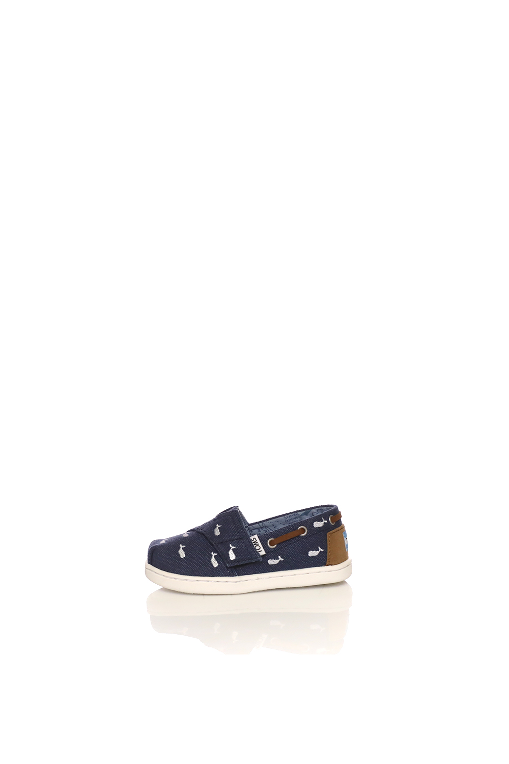 -50% Collective Online TOMS – Παιδικές εσπαντρίγιες TOMS NVY WHLE  EMBROIDERY TN BIMINI ντένιμ 87b0c501596