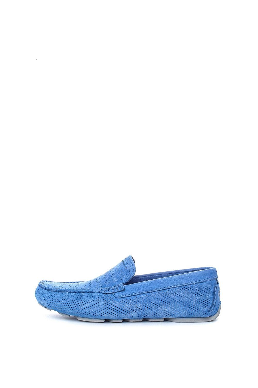 UGG – Ανδρικά μοκασίνια UGG Henrick Stripe Perf μπλε