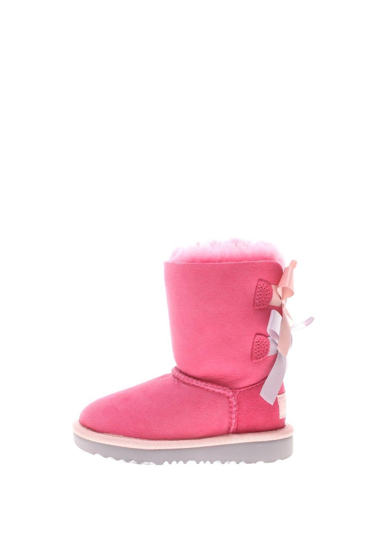 UGG – Παιδικά μποτάκια UGG T BAILEY BOW II φούξια