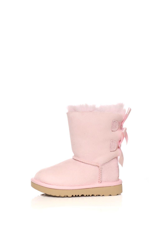 UGG – Παιδικά μποτάκια UGG BAILEY BOW II ροζ