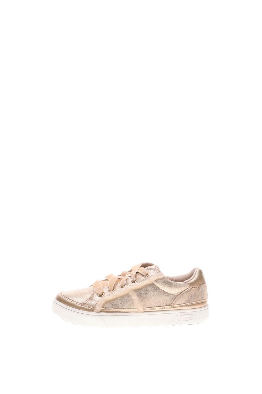 UGG – Παιδικά sneakers UGG K Alanna Sneaker χρυσά