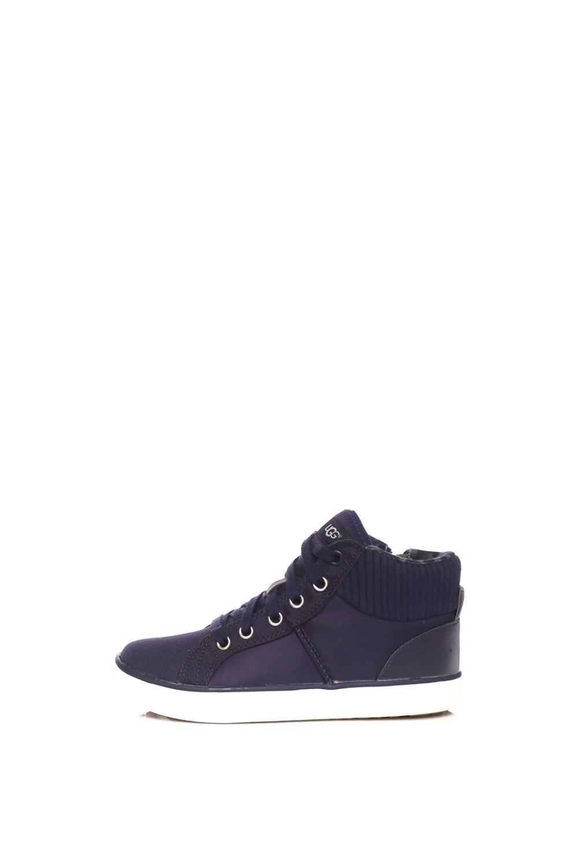 UGG – Παιδικά ψηλά sneakers UGG Boscoe μπλε