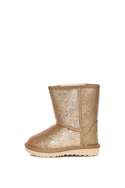UGG – Κοριτσίστικα μποτάκια Classic Short II Glitter χρυσά