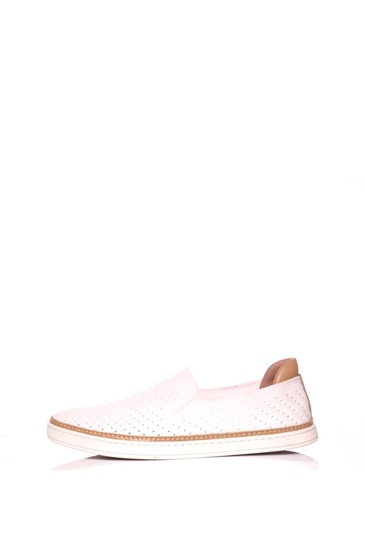 UGG AUSTRALIA – Γυναικεία sneakers UGG SAMMY CHEVRON λευκά