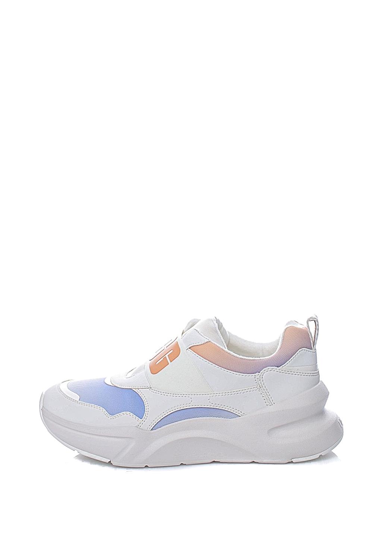 UGG – Γυναικεία sneakers UGG LA Flex λευκά ροζ μπλε