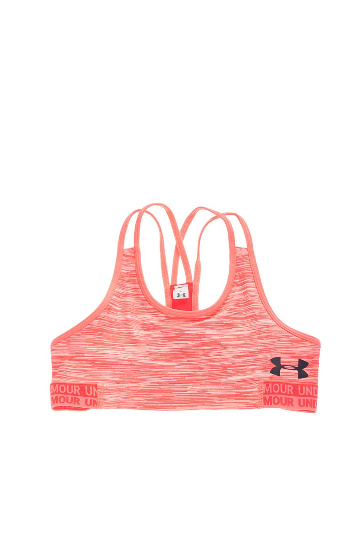 b7a938ae66b Sport-loft UNDER ARMOUR - Κοριτσίστικο αθλητικό μπουστάκι UNDER ARMOUR  HEATGEAR ροζ