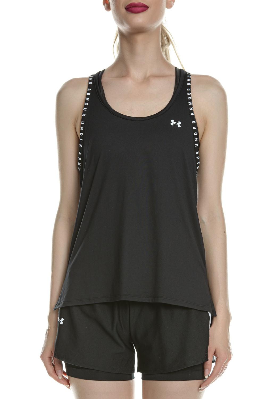 UNDER ARMOUR - Γυναικεία αμάνικη μπλούζα UNDER ARMOUR Knockout Tank μαύρη