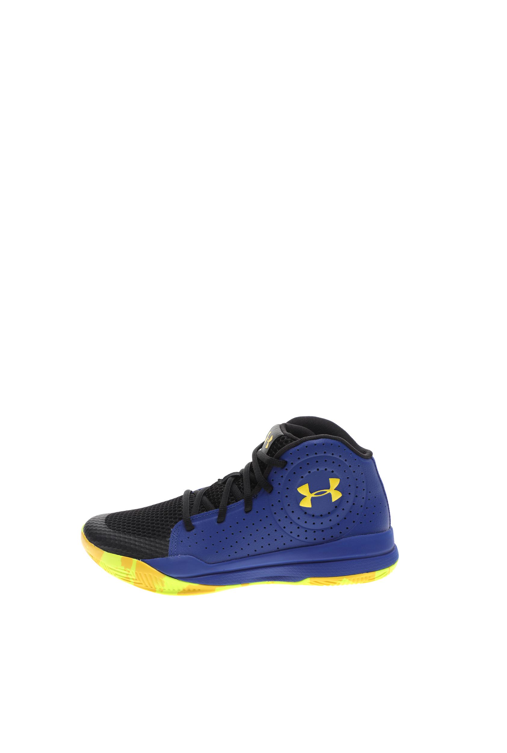 UNDER ARMOUR – Παιδικά παπούτσια basketball UNDER ARMOUR GS Jet 2019 μπλε κίτρινα
