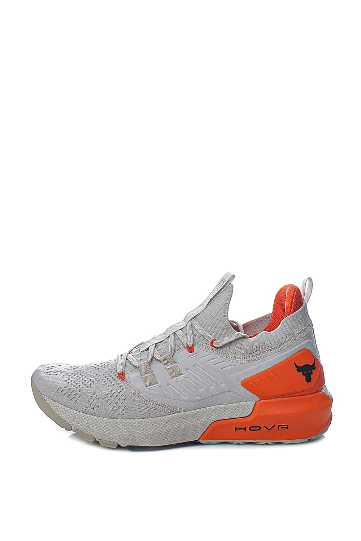 UNDER ARMOUR – Ανδρικά παπούτσια training UNDER ARMOUR Project Rock 3 λευκά πορτοκαλί