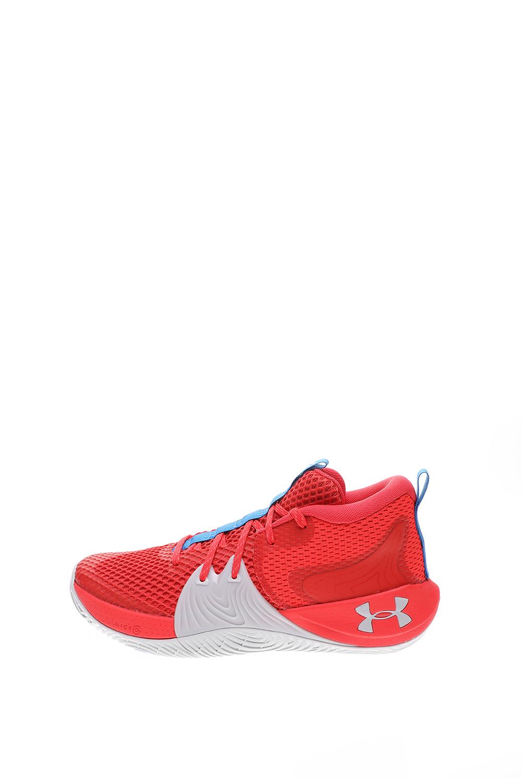 UNDER ARMOUR – Unisex παπούτσια basketball UNDER ARMOUR Embiid 1 κόκκινα γκρι