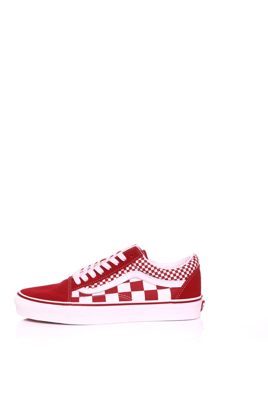 e6de257575 Γυναικεία παπούτσια VANS - Unisex sneakers VANS OLD SKOOL κόκκινα ...