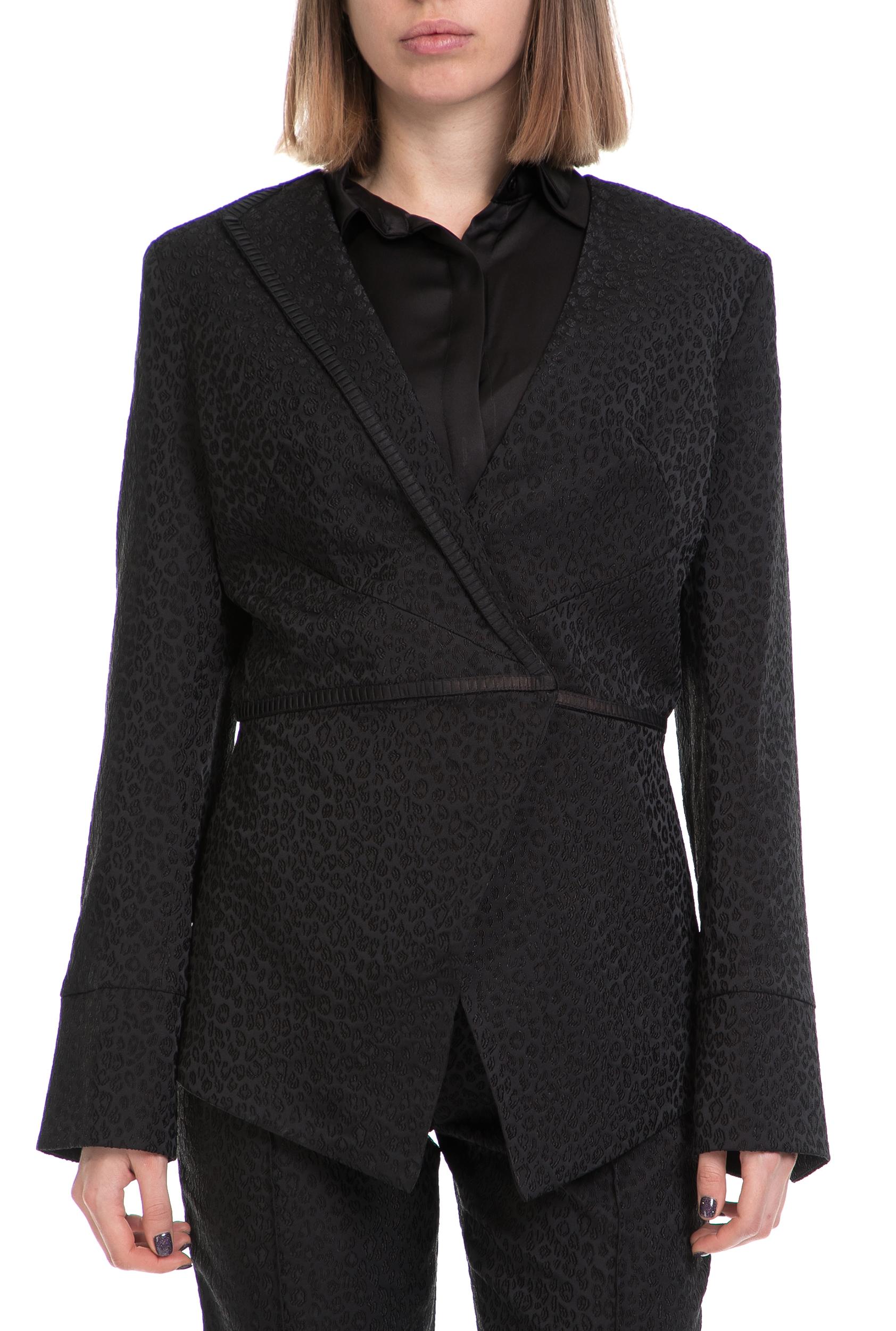 YVONNE BOSNJAK - Γυναικείο σακάκι YVONNE BOSNJAK μαύρο γυναικεία ρούχα πανωφόρια σακάκια