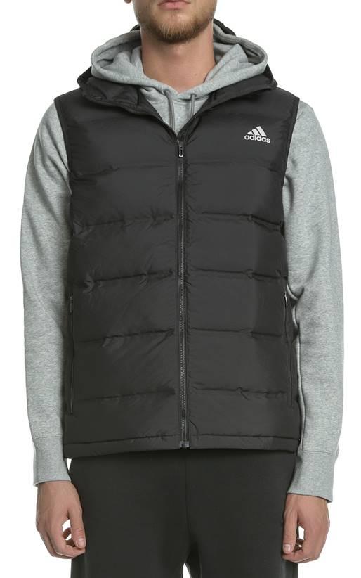 999733feb3 adidas - Ανδρικό αμάνικο μπουφάν HELIONIC VEST μαύρο - adidas ...