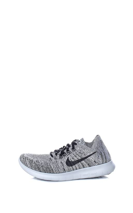 NIKE- Γυναικεία παπούτσια running NIKE FREE RN FLYKNIT 2017 γκρι ... 2ff145b4376