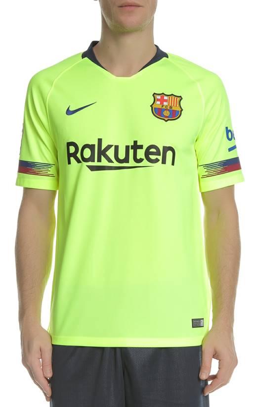 03ef892e1a1e NIKE- Ανδρικό t-shirt FCB STAD NIKE κίτρινο (1643269)
