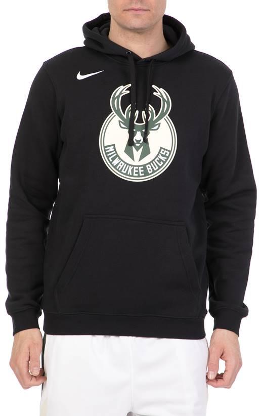 6673d6665983 NIKE- Ανδρική μπλούζα Nike NBA Milwaukee Bucks μαύρη (1644346 ...