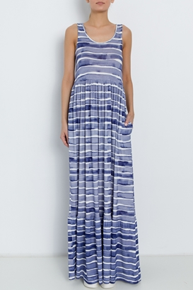 Pepe Jeans-Rochie maxi regular fit