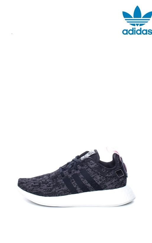Γυναικεία αθλητικά παπούτσια NMD R2 γκρι-μαύρα - adidas Originals ... ca39778a553