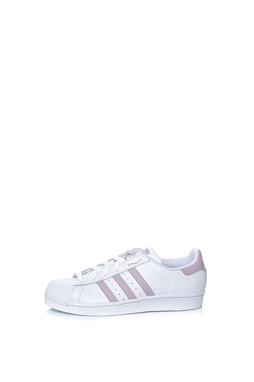 15120e1017 adidas Originals-Γυναικεία sneakers adidas Originals SUPERSTAR λευκά - ροζ