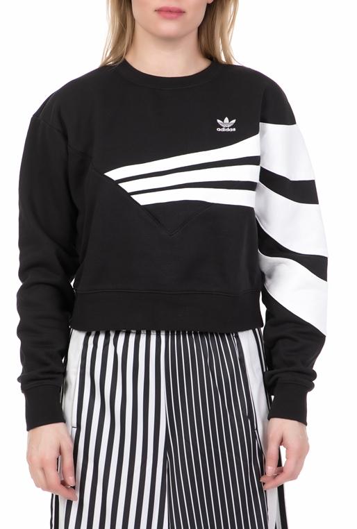 1690daadd1aa Γυναικεία φούτερ μπλούζα adidas μαύρη - adidas Originals (1728031 ...