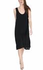 AMERICAN VINTAGE-Μίντι φόρεμα AZA148E18 μαύρο