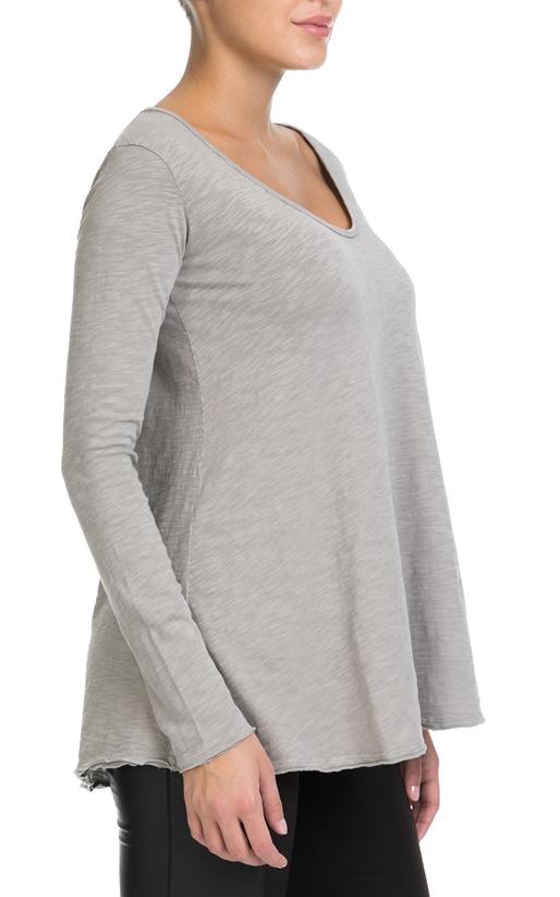 AMERICAN VINTAGE-Γυναικεία μπλούζα AMERICAN VINTAGE γκρι