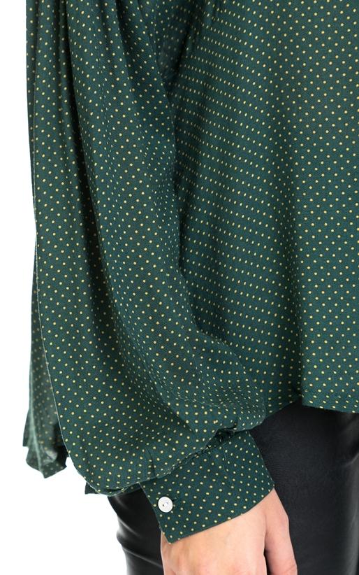 AMERICAN VINTAGE-Γυναικεία μπλούζα AMERICAN VINTAGE πράσινη