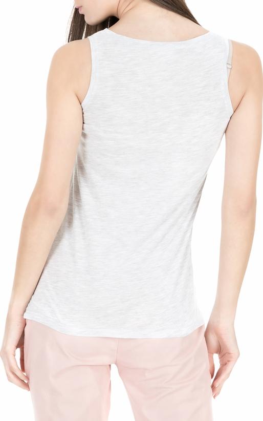 AMERICAN VINTAGE-Γυναικεία αμάνικη μπλούζα JAC50E18 λευκή