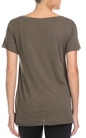 AMERICAN VINTAGE-Γυναικείο T-shirt AMERICAN VINTAGE λαδί