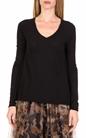AMERICAN VINTAGE-Γυναικεία μακρυμάνικη μπλούζα JAC52E18 μαύρη