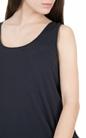 AMERICAN VINTAGE-Γυναικεία αμάνικη μπλούζα JOC40E18 μπλε