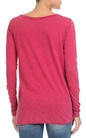 AMERICAN VINTAGE-Γυναικεία μπλούζα AMERICAN VINTAGE ροζ