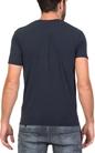 AMERICAN VINTAGE-Ανδρική κοντομάνικη μπλούζα MOBI12E18 American Vintage σκούρο μπλε