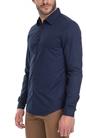 AMERICAN VINTAGE-Ανδρικό πουκάμισο American Vintage μπλε