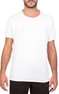 AMERICAN VINTAGE-Ανδρική κοντομάνικη μπλούζα MTINI2E18 American Vintage λευκή