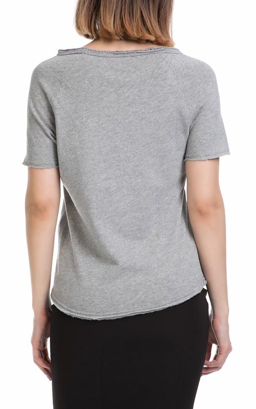 AMERICAN VINTAGE-Γυναικείο T-shirt AMERICAN VINTAGE γκρι
