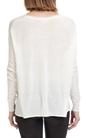AMERICAN VINTAGE-Γυναικείο πουλόβερ AMERICAN VINTAGE λευκό