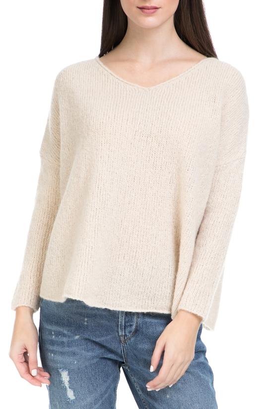 AMERICAN VINTAGE-Γυναικείο πουλόβερ AMERICAN VINTAGE ροζ