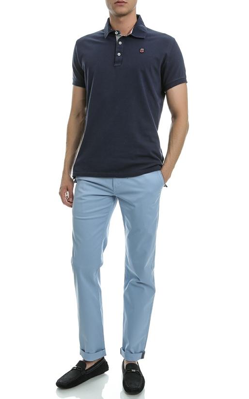 BEN SHERMAN-Ανδρικό παντελόνι Ben Sherman μπλε