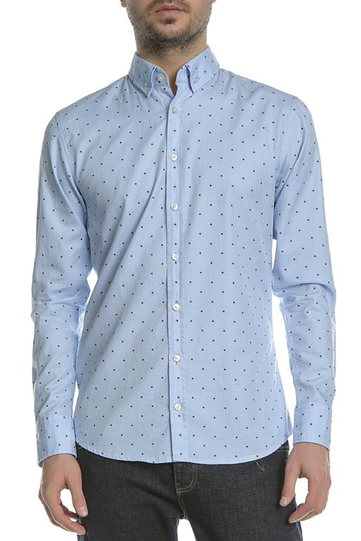 14ebd298dc89 Ανδρικό μακρυμάνικο πουκάμισο BOSS Epreppy γαλάζιο (1660315 ...