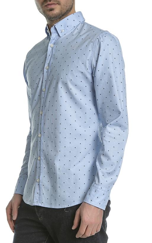 Ανδρικό μακρυμάνικο πουκάμισο BOSS Epreppy γαλάζιο (1660315 ... ab41e0b9ce6