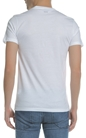 BOSS ORANGE-Ανδρική κοντομάνικη μπλούζα Boss Orange JERSEY Tauno λευκή