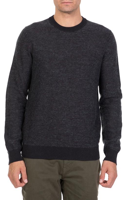 Ανδρική πλεκτή μπλούζα BOSS Adonest ανθρακί (1696201)  5b673d632ba