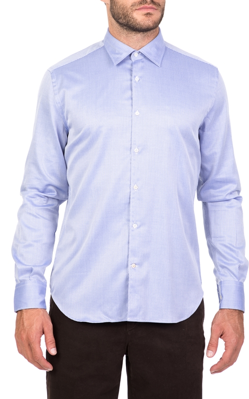 Ανδρικό μακρυμάνικο πουκάμισο BROOKSFIELD γαλάζιο (1664371 ... d21108ba7b3