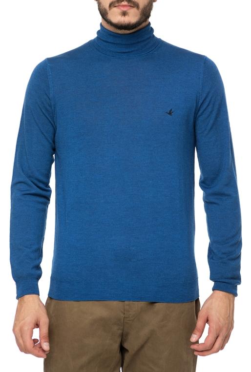 3e252a5cf4fc BROOKSFIELD-Ανδρική ζιβάγκο μπλούζα BROOKSFIELD μπλε