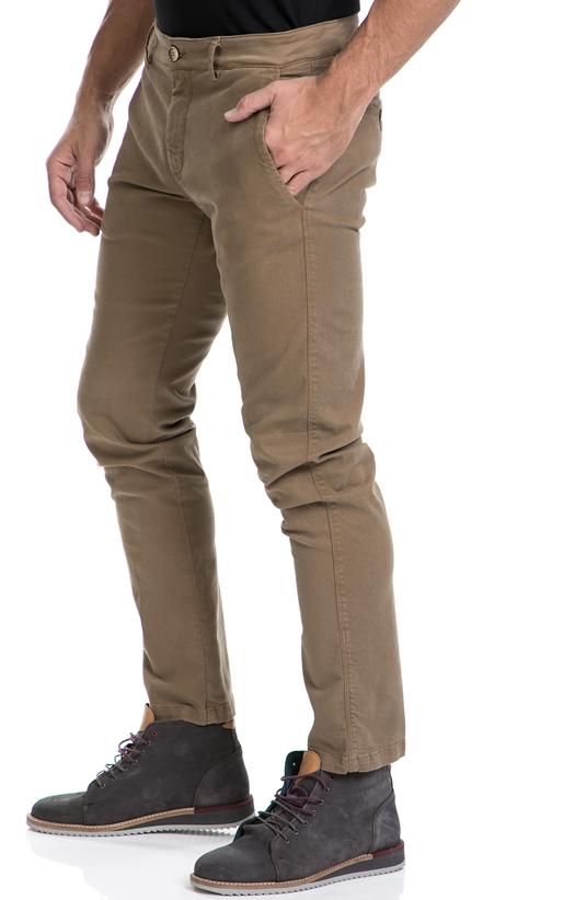 BROOKSFIELD-Αντρικό παντελόνι CHINO BROOKSFIELD καφέ