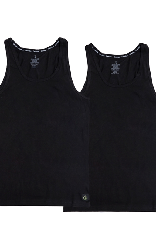 CK UNDERWEAR-Σετ φανέλες Calvin Klein μαύρες